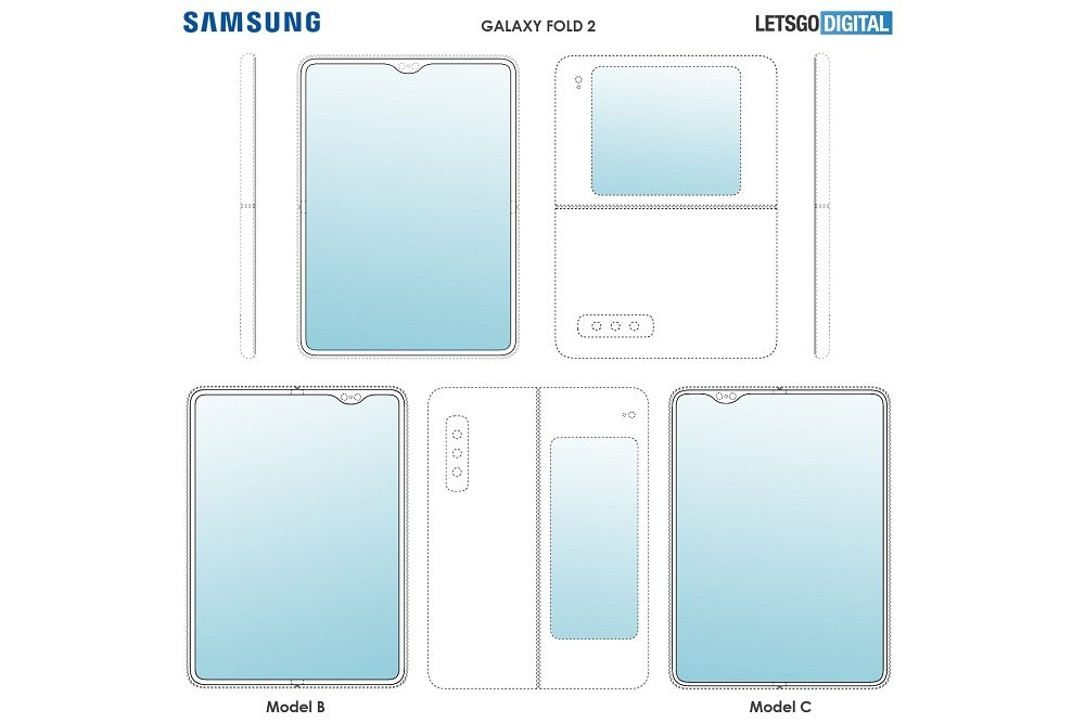 Samsung Galaxy Fold  2    Daha çox patent səthi olduğundan daha çox dizayn imkanları əldə edirsiniz 1