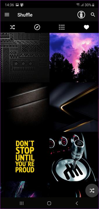 La mejor aplicación de papel tapiz para Samsung Galaxy Note    10 dan Note 7