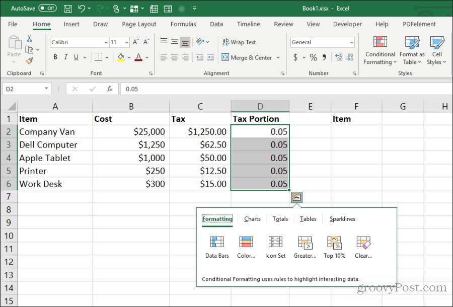yapışdırma hesablamalarının nəticələri