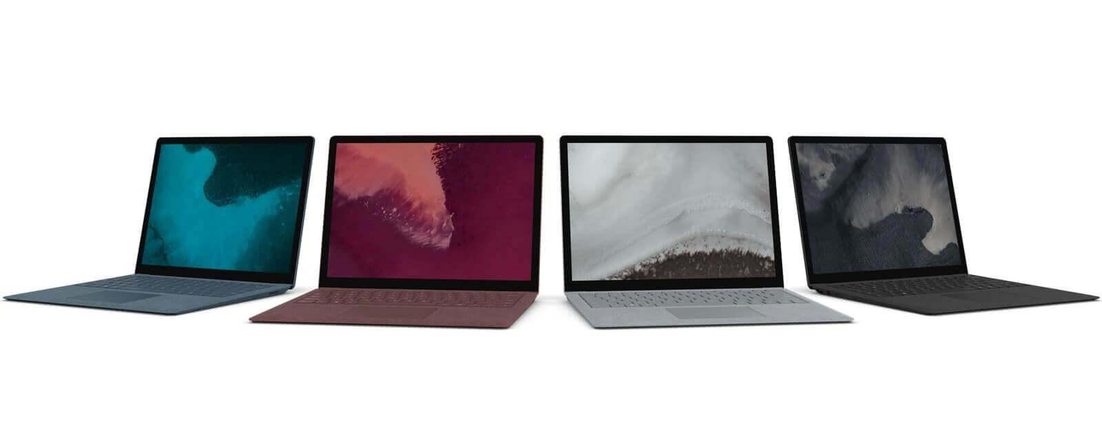 Laptopun səthi 2