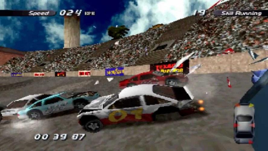 Пет игри за возење возење на метали кои нè потсетуваат на дербито со уништување на рушини