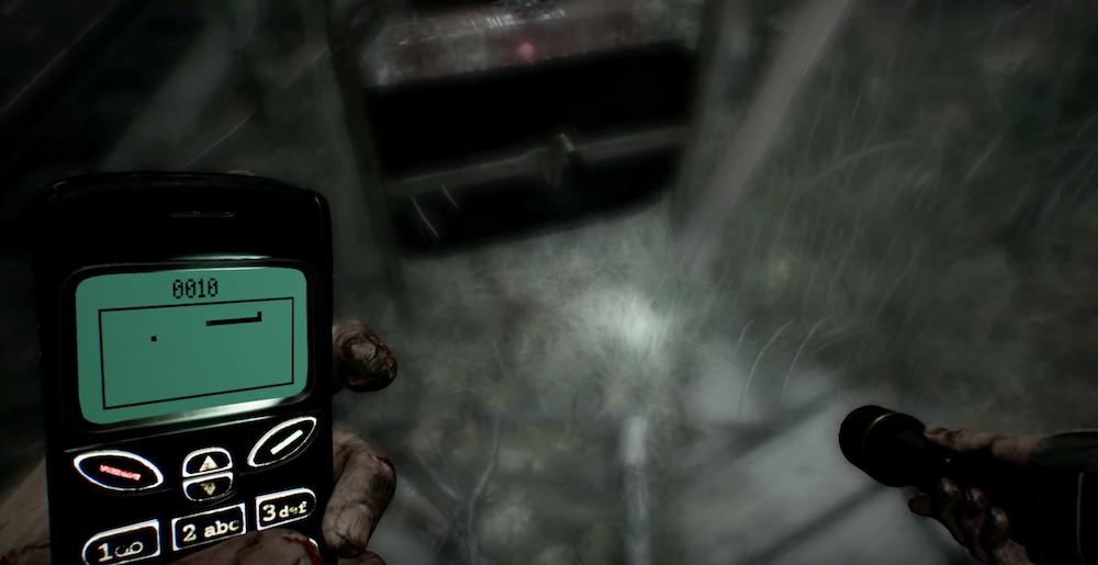 Cách chơi trò chơi mini trên điện thoại di động của bạn trong Blair Witch 1