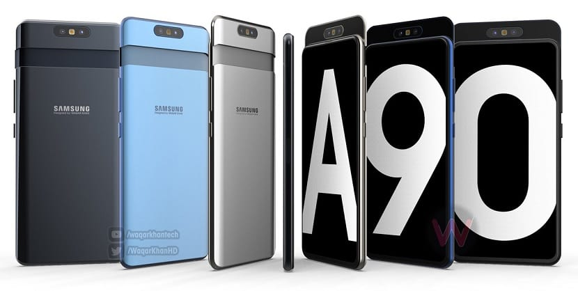 Samsung Galaxy Na oficiálnom plagáte sa objavil model A90 5G 1