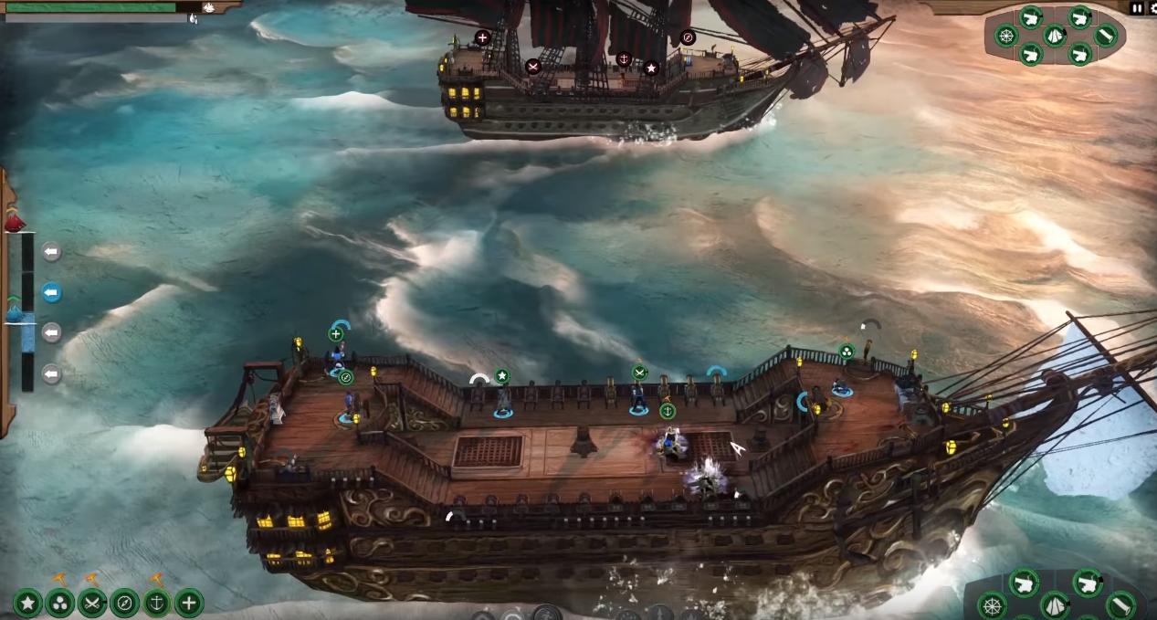 Игнорирајте нови борбени бродови со приколки со наутички стратешки игра 2