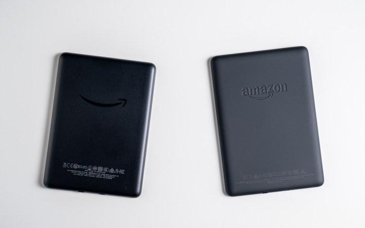 Amazon Kindle  vs Desain Paperwhite