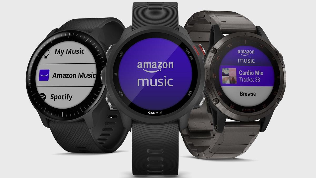 Amazon    Musiqi Garmin cihazında ilk ağıllı saat tətbiqetməsini işə salır 1