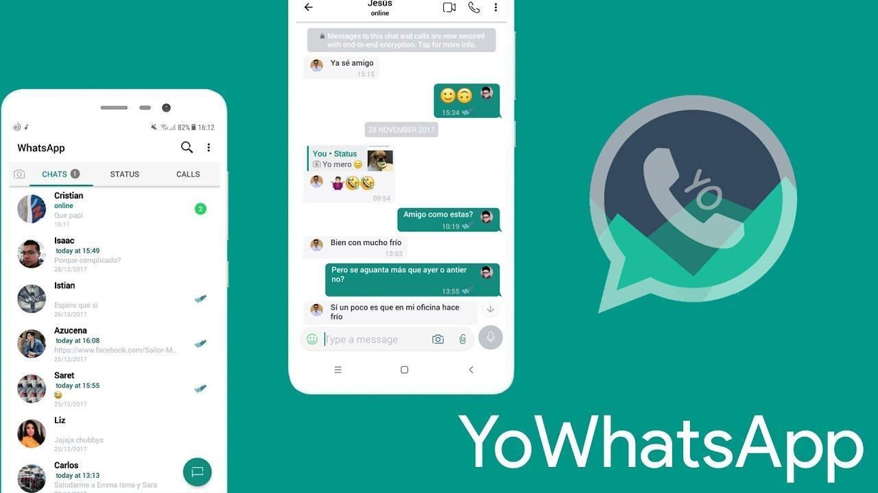 Ganti tema WhatsApp versi iPhone di YoWhatsApp