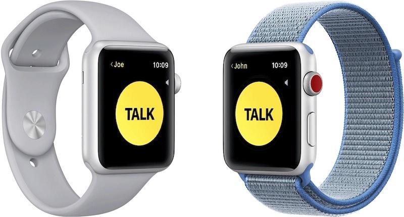 Apple    Walkie-Talkie funksiyasını müvəqqəti olaraq deaktiv edin Apple Watch əhəmiyyətli zəifliklər aşkar edildikdə 1