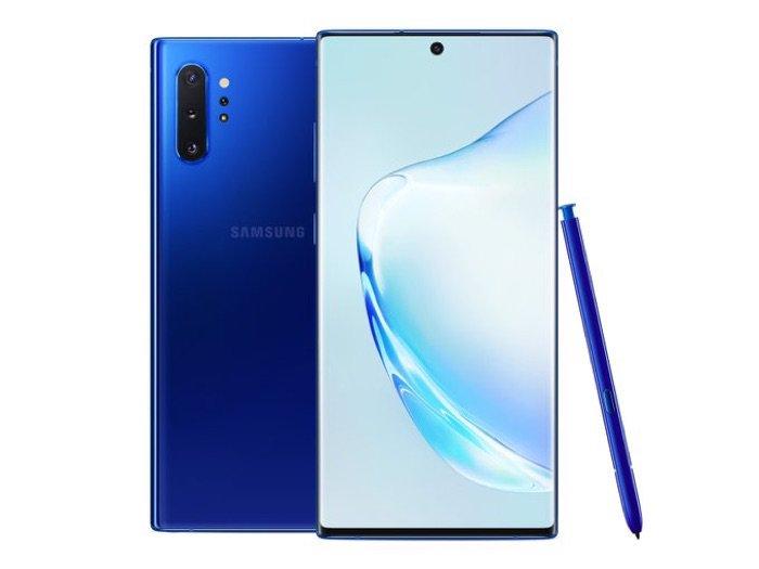 Samsung Aura Mavi Galaxy Note        10+
