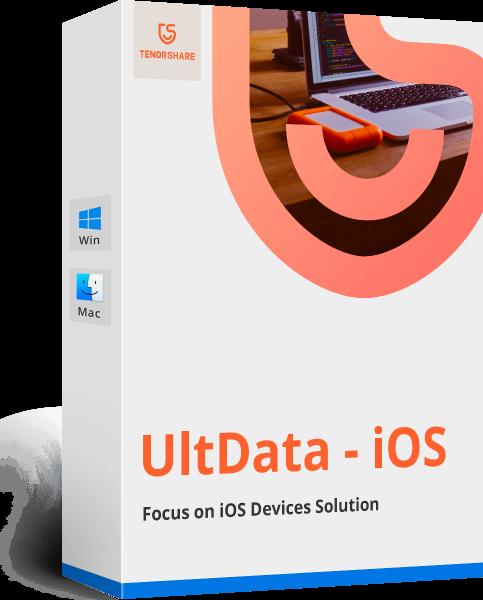 Cómo recuperar datos de iPhone usando Ultdata de Tenorshare 1
