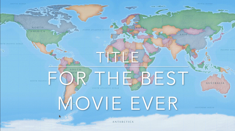 Mac ve iOS 2'de iMovie'de film başlıkları nasıl eklenir ve düzenlenir