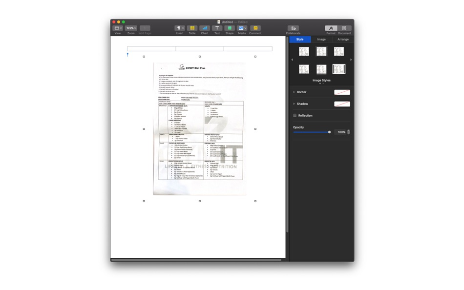 Сканирование документов на Mac с iPhone