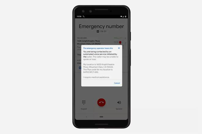 Cómo funciona la función de texto a voz de emergencia de Google en los teléfonos Pixel 1