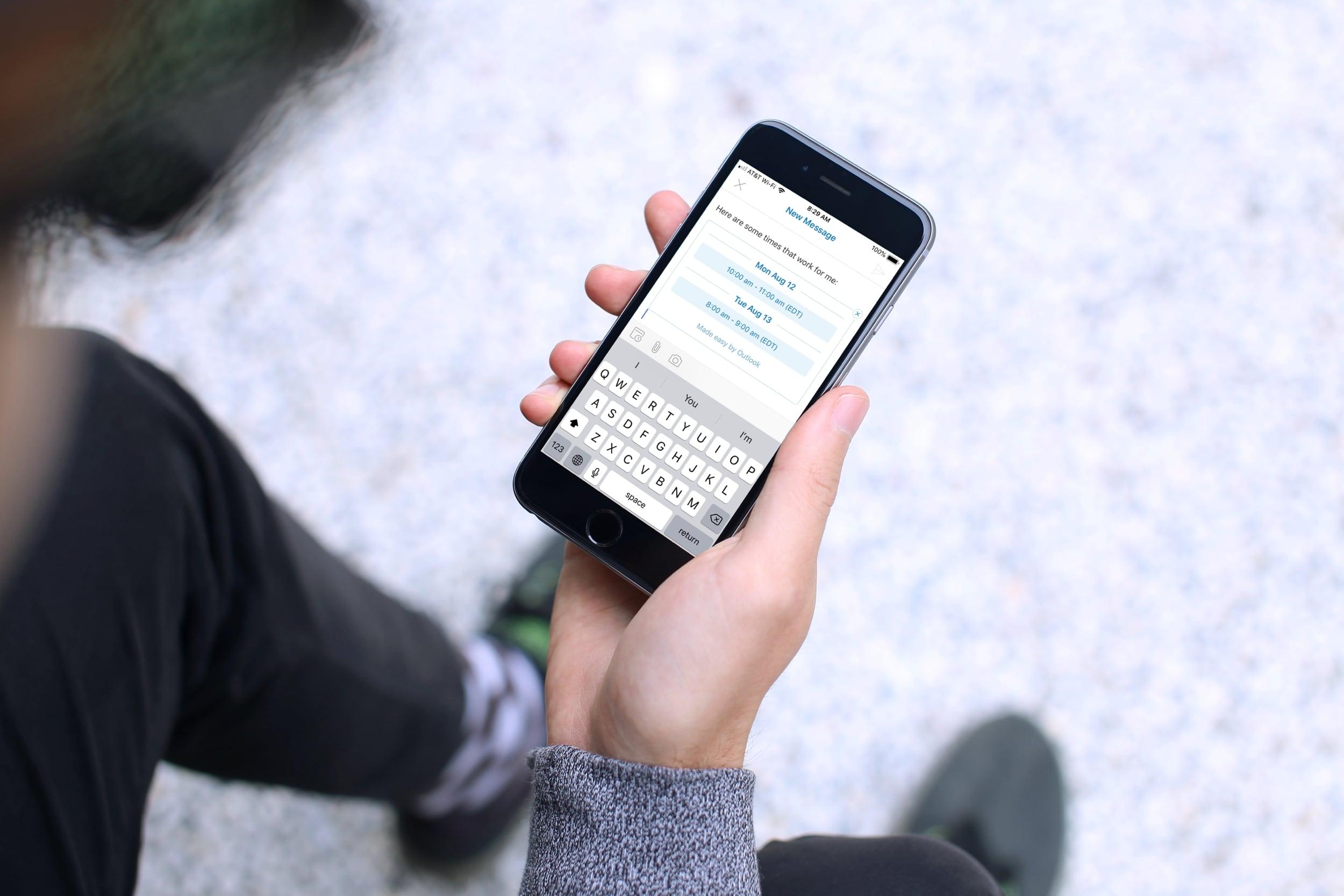 Outlook Outlook e-poçtunun mövcudluğu