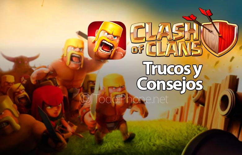 İPhone və iPad üçün Clans of Clans toqquşması üçün hileler və tövsiyələr 2
