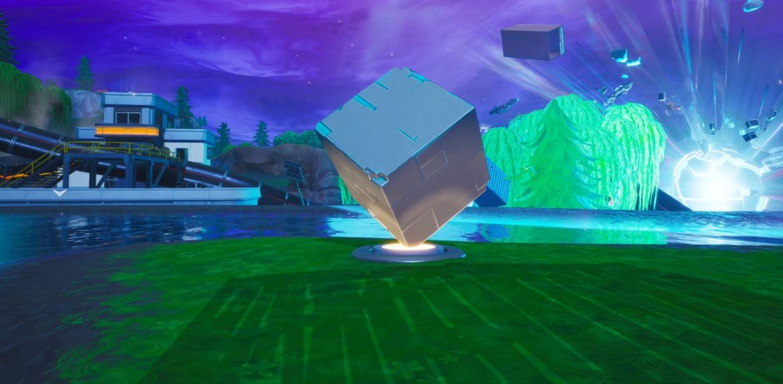 Di mana menemukan semua peringatan Cube di Fortnite Battle ...