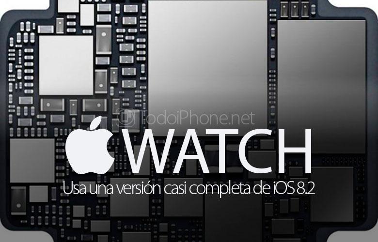 O Apple Watch iOS versiyasını quraşdırın 8.2 demək olar ki, tamamlandı 2