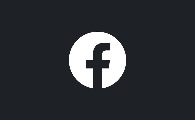 Modo oscuro activado Facebook