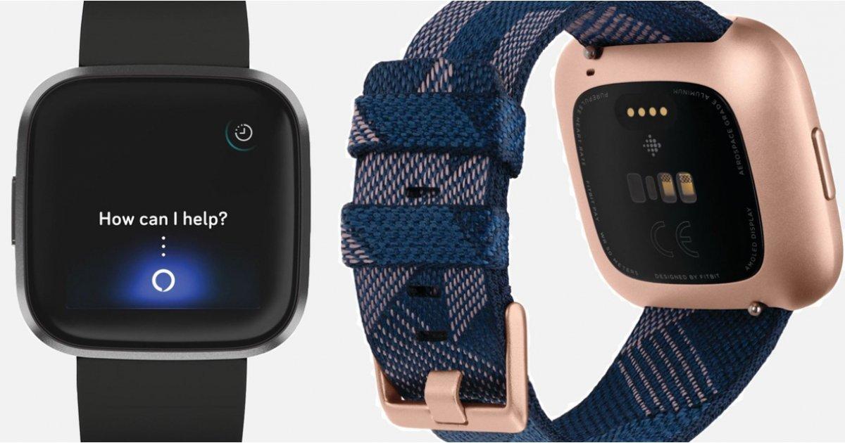 Fitbit Versa 2 kanssa Amazon Alexan tuki saattaa olla matkalla 1