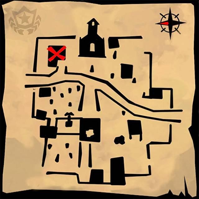 Fortnite    Snobby Shores Treasure Map - Xəzinə yeri 5 Bazar günü 2