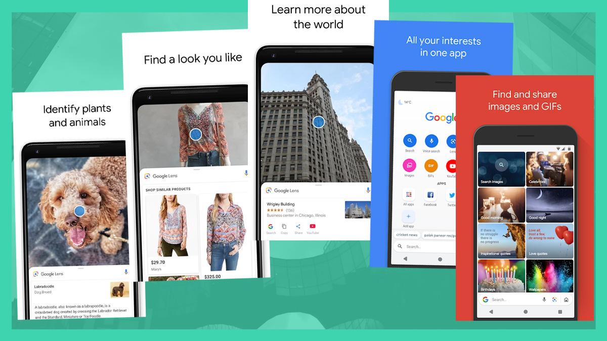 Google Go Search y Lens están disponibles en todo el mundo para Android 5.0 o mas alto 1