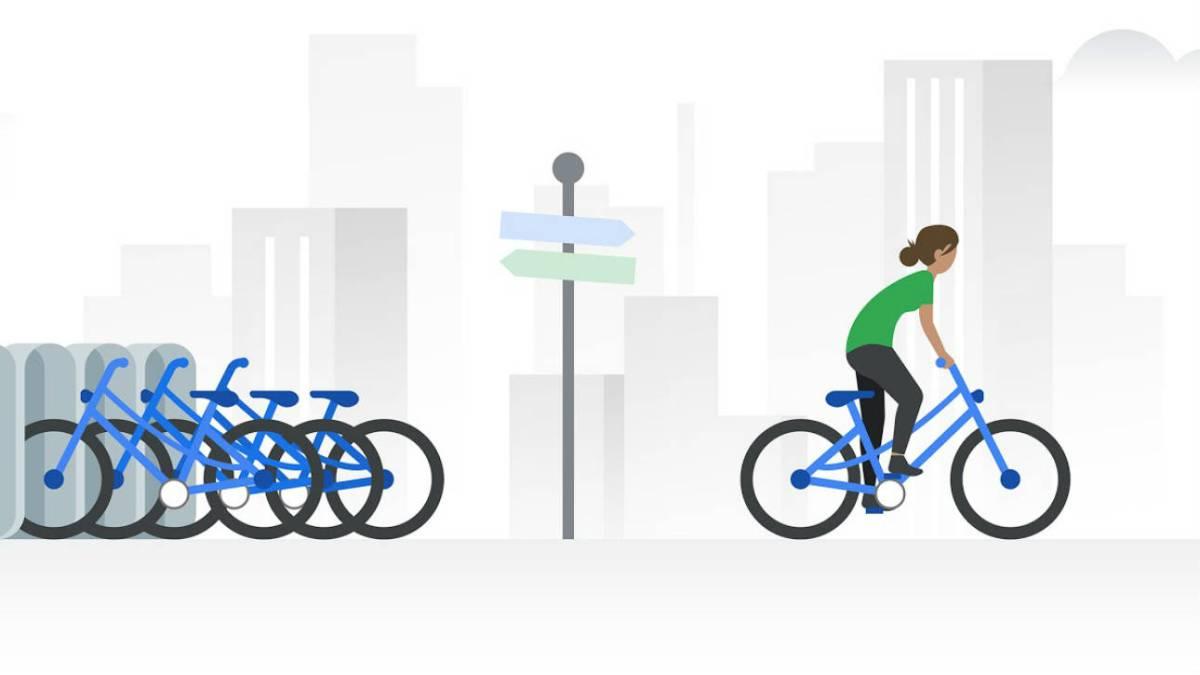 Google Maps memberi tahu Anda di mana harus menyewa sepeda secara real time 1