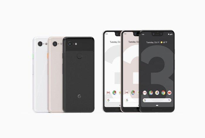 Google Pixels 3 y 3XL