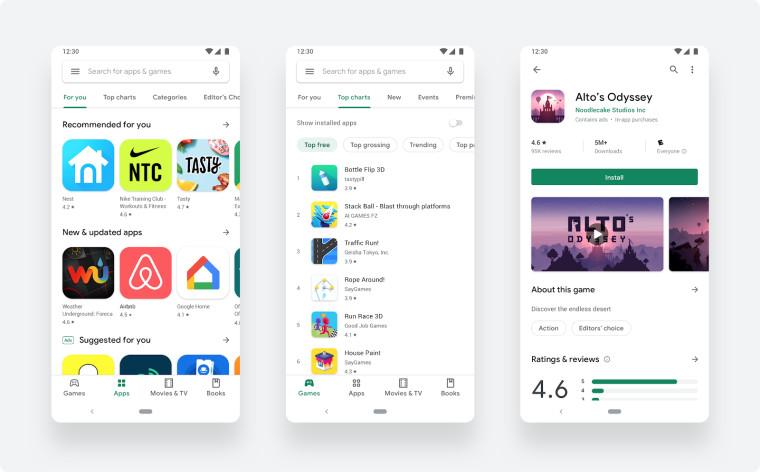 Google đang thiết kế lại Cửa hàng Play để giúp tìm ứng dụng và trò chơi dễ dàng hơn 1