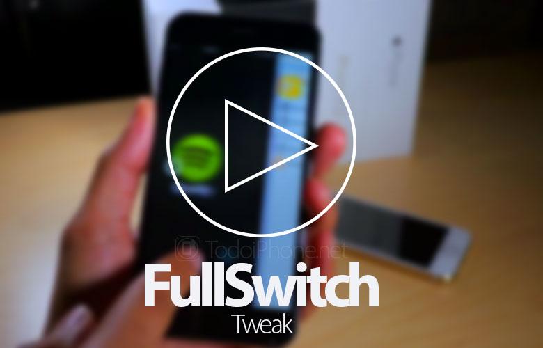 Sử dụng màn hình iPhone trên nhiều màn hình với FullSwitch 2