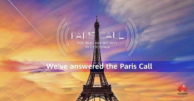 Huawei Bergabung dengan Paris Call for Trust, Security in Cyberspace 2