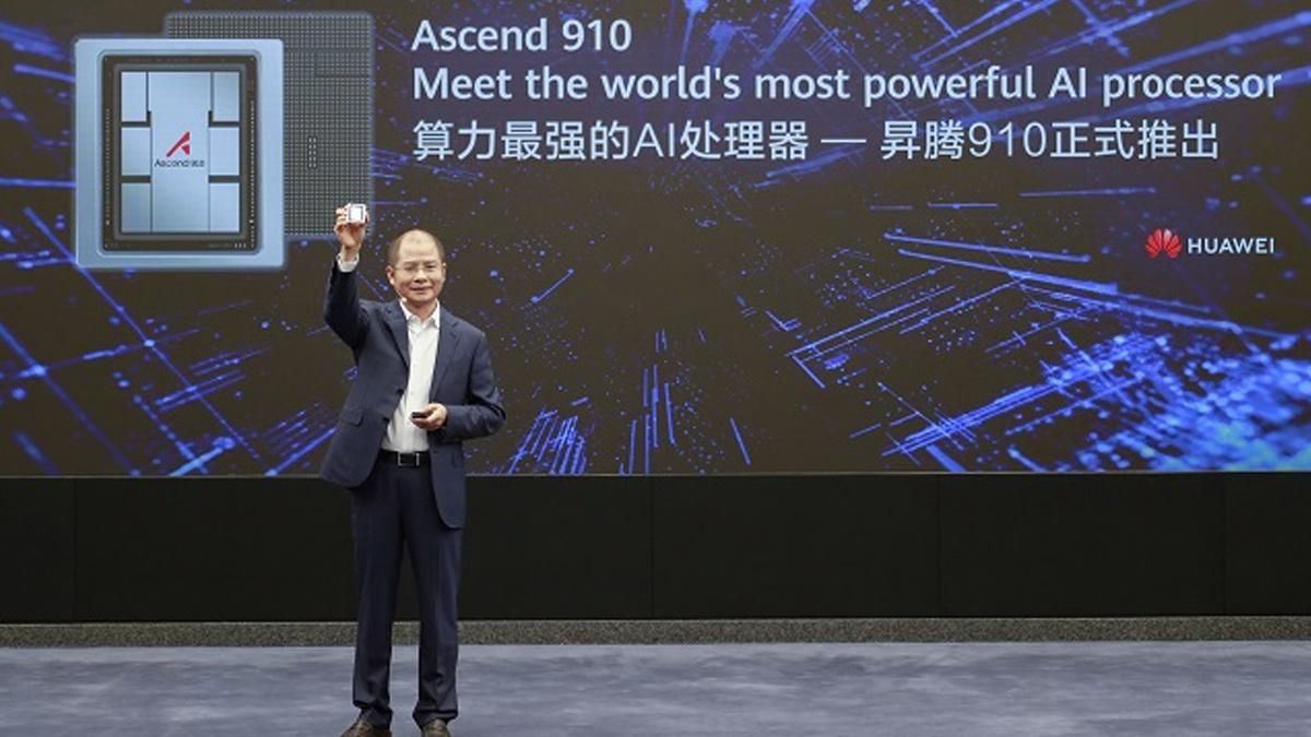Huawei meluncurkan Ascend 910 chip dan kerangka kerja komputasi MindSpore 1