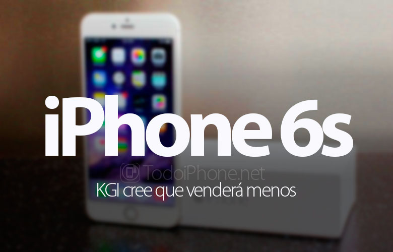 IPhone 6s akan menjual sedikit sesuai dengan KGI 1