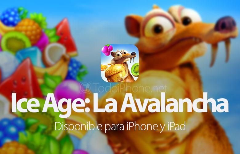 Ледено доба: Лавина доаѓа до iPhone и iPad 2