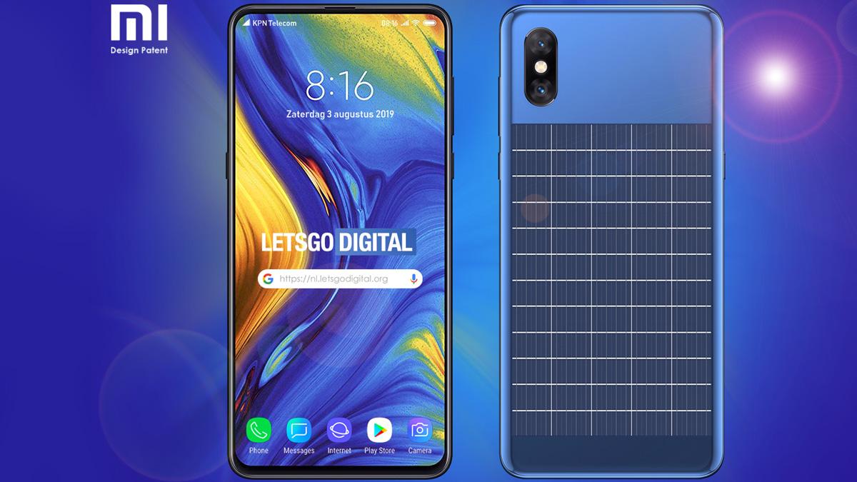Kolejną specjalną innowacją Xiaomi jest smartfon z panelem słonecznym