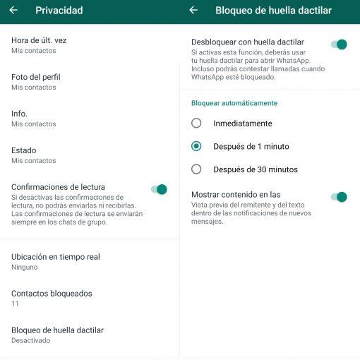 Whatsapp bảo vệ
