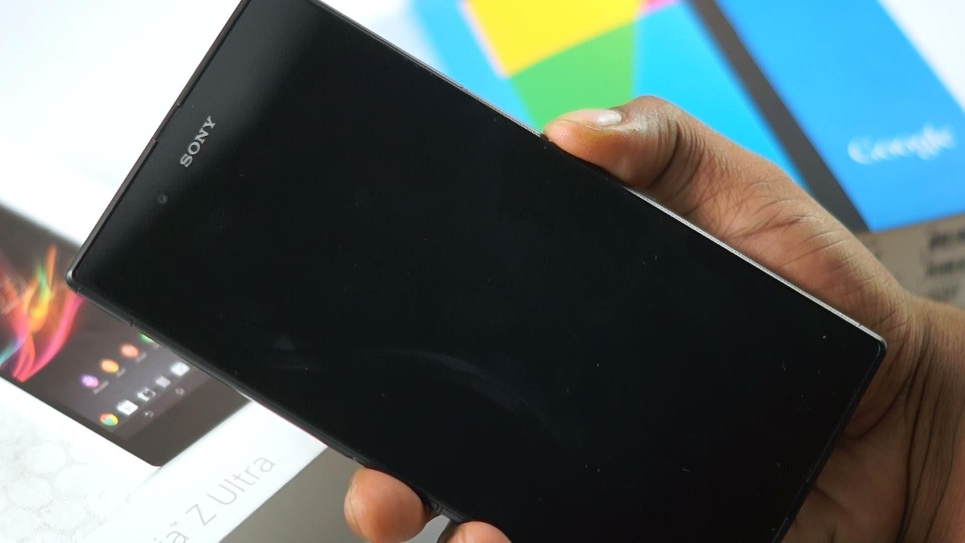 Layar hitam Sony Xperia - Kami membantu Anda mengatasi kesalahan 2