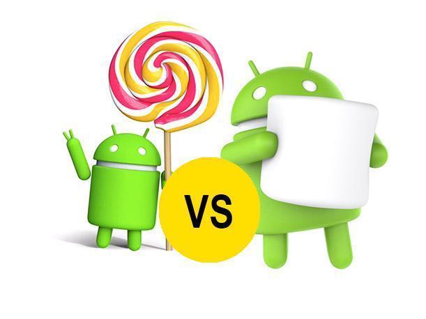 Marshmallow vs Lollipop - Descubre quién es el ganador 2