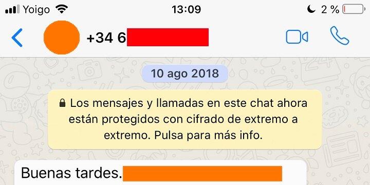 Hình ảnh: Tại sao WhatsApp chỉ cho tôi số thay vì tên của người liên hệ?