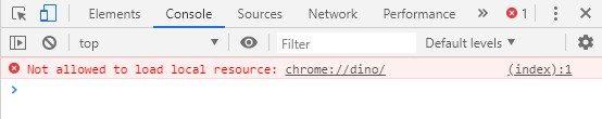 Chrome    yoxlama elementi