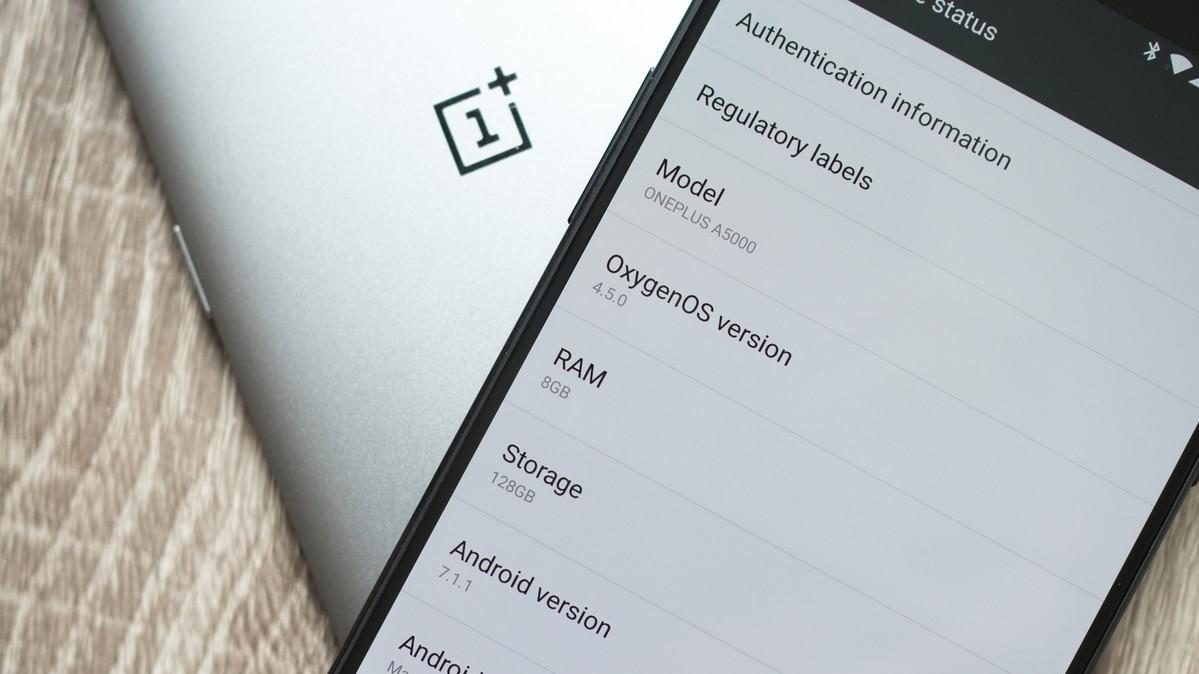 OnePlus 5: Apakah jeli menggulirkan konsekuensi dari tampilan terbalik? 2