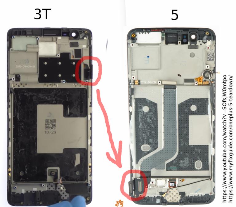 Pengguliran jeli OnePlus 5 adalah konsekuensi dari tampilan terbalik (1)