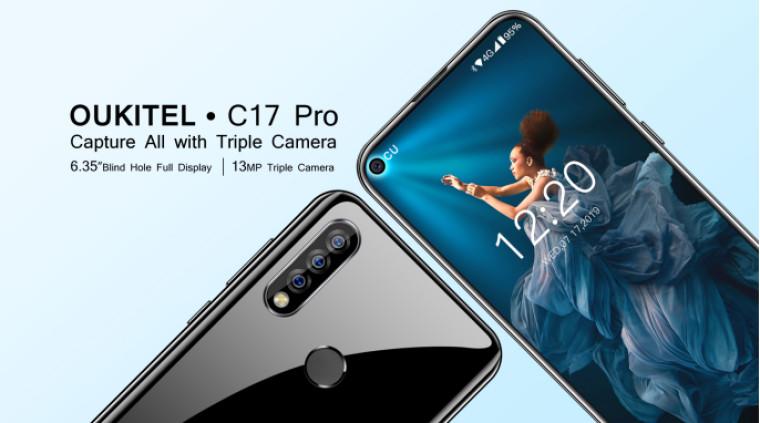 Oukitel debutó con C17 Pro; Tres configuraciones de cámara trasera por $ 139.99 1