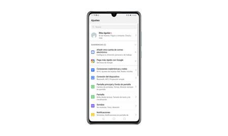 Huawei-asetukset