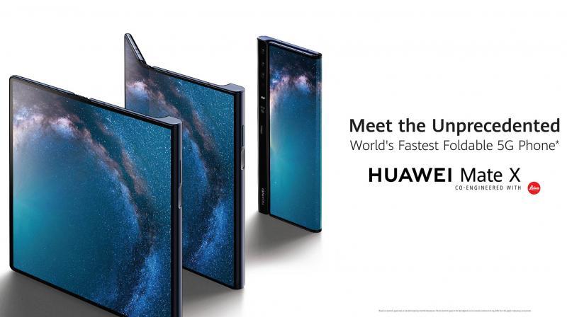 Huawei Mate X доби многу награди на MWC 2019.