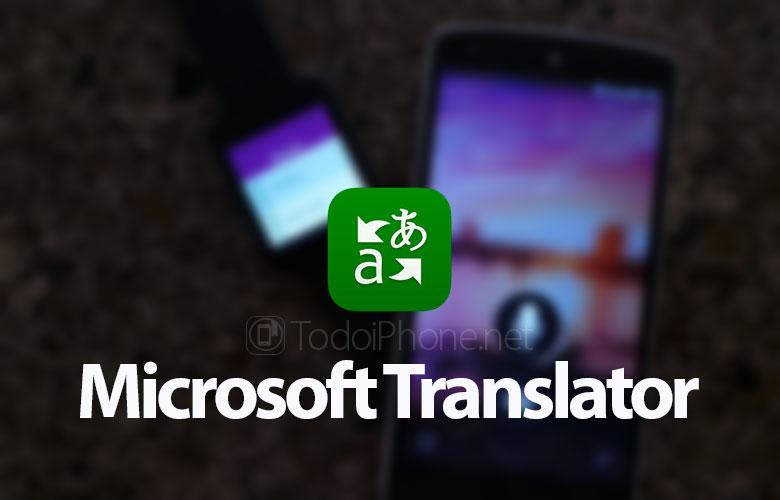 İPhone tərcüməçisi üçün Microsoft tərcüməçisi burada 2