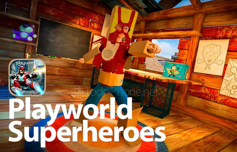 Playworld, một trò chơi siêu anh hùng thú vị dành cho iPhone và iPad 2