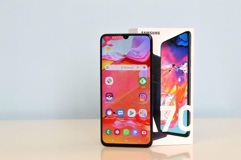 Samsung Galaxy A70s е поблизу: неговите карактеристики се филтрираат 1