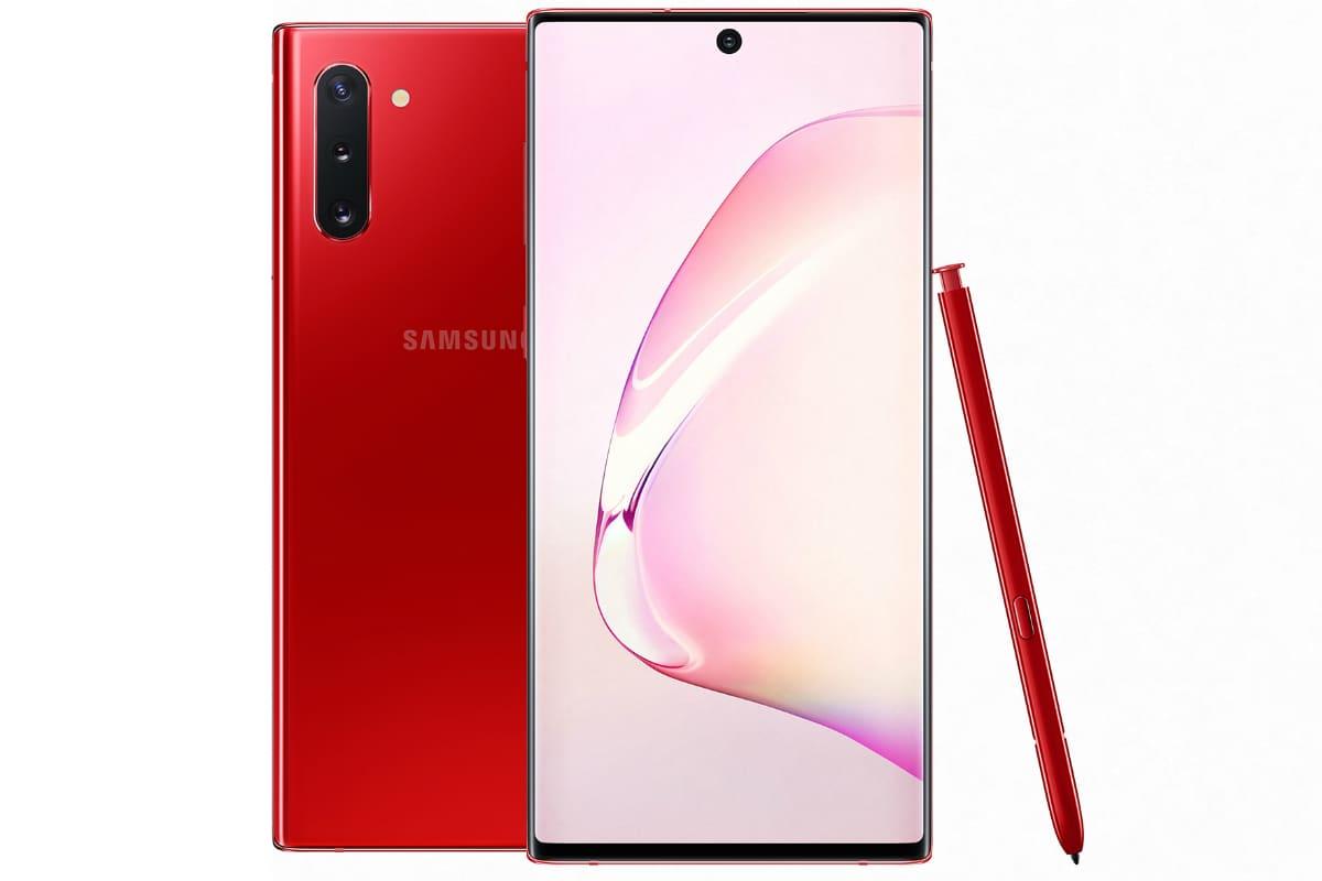 samsung galaxy note 10 aura red Samsung Galaxy Note  10 Plus