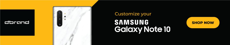 """Samsung Galaxy Note        İki ölçüdə elan edilən 10 seriya, qulaqlıq yuvası yoxdur, $ 949 18 """"width ="""" 750 """"height ="""" 150"""