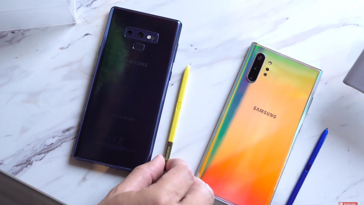 Samsung Galaxy Note 10 vs Galaxy Note 9 1